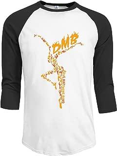 LOVEHOLIC DMB Dave Matthews Band Men's Fitted Raglan T Shirt