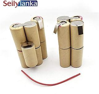 Seilylanka 3000mAh for Black Decker 18V Ni MH Battery pack CD vacuum cleaner Dustbuster Pivot PV1805CN للتركيب الذاتي