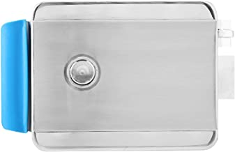 Fechadura de controle elétrico, fechadura de segurança Fechadura elétrica positiva direita, anti-roubo para edifícios resi...
