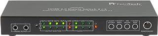 FeinTech VMS02400 HDMI 2.0 Matrix Switch Splitter 2 Eingänge 4 Ausgänge Audio Extractor 4K 60Hz HDR