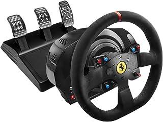 Thrustmaster T300 Ferrari Integral Racing Wheel Alcantara Edition ハンドルコントローラー 【日本正規代理店保証品】 4160660