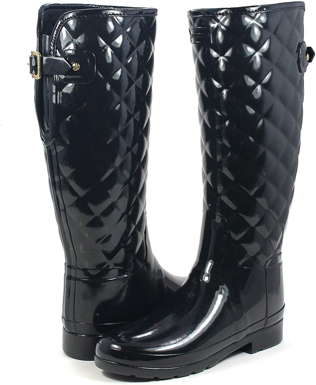 Hunters Boots Women's Refined Quilted Tall Boots