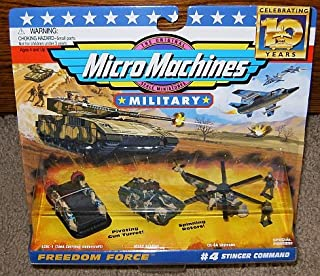 Micro Machines Stinger Command #4 Military Collection