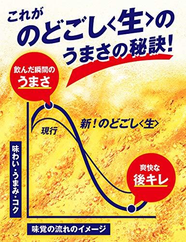 『【新ジャンル】キリン のどごし<生> [ 350ml×24本 ]』の2枚目の画像