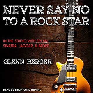 Never Say No to a Rock Star audiobook cover art