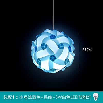 Puzzle Lights Colorful Hanging Light