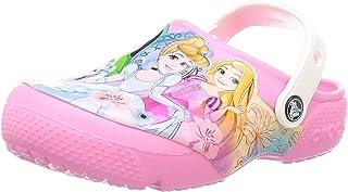 Crocs Unisex-Child 206272-669 Kid's Disney Princess Clog|Water Shoe for Toddlers|Girls' Slip on Sandal