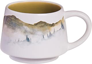 Cypress Home Edge of the Woods Hand-Crafted Artisans Series Ceramic Mug, 12 ounces in Giftable Box