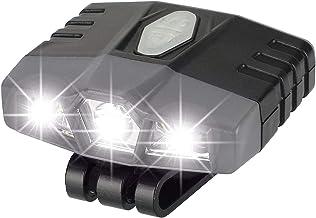 Harilla LED Cap Koplamp Zaklamp USB Oplaadbare Clip On Lamp Hunting Light - Grijs