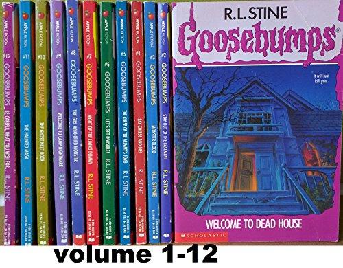 Goosebumps (original series) Set, Books: 1 -12