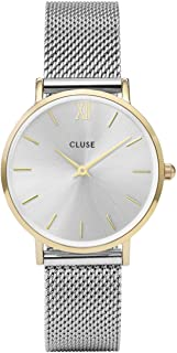 CLUSE Womens Analogue Classic Quartz Connected Wrist Watch with Stainless Steel Strap CL30024