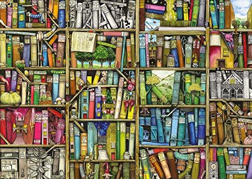 Ravensburger Puzzle – Magisches Bücherregal, 1000 Teile - 2