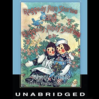 Raggedy Ann Stories and Raggedy Andy Stories audiobook cover art