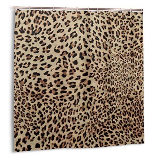 cortinas ducha leopardo