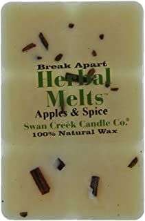 Swan Creek Drizzle Melts Wax Warmer Triple Scented Cubes - Apples and Spice