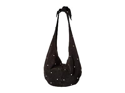 Sam Edelman Thea Knotted Hobo (Black) Handbags