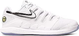 Nike Junior's Vapor X (5.5 M US Big Kid, White/White/Black/Canary)