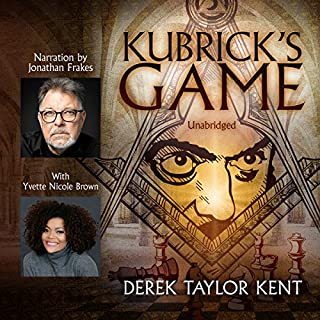 Kubrick's Game audiobook cover art