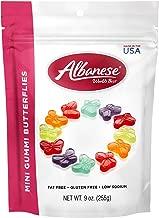 Albanese Candy, Mini Gummi Butterflies, 9 Ounce Bag