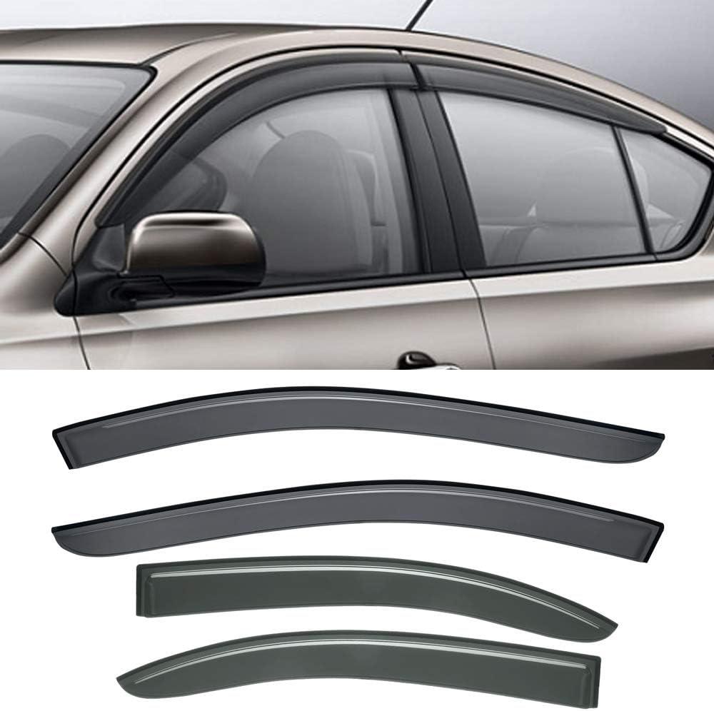 CBX Max 47% OFF Auto 4pcs for 2009-2015 Nissan Maxima Sun Rain Guard Sh Vent New mail order