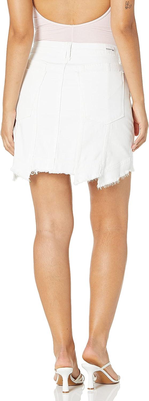 HUDSON Women's Weekender Step Hem Skirt
