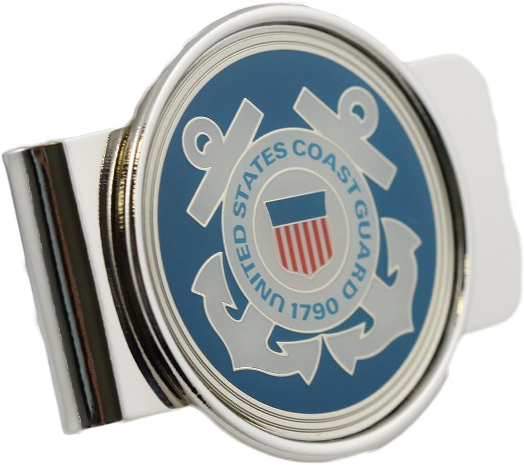 US Coast Guard Logo Money Clip Military Money Clip
