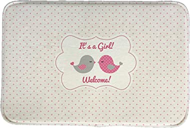 Boys and Girls Style Printed Door Mat Floor Mat Floor Mat Kitchen Room Carpet Floor Mat Tapis Pastoral Absorbent Floor Mat