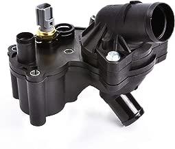 MYSMOT Thermostat Housing Kit Assembly With Sensor Fits V6 4.0L Engine ONLY 2002-2010 Ford Explorer & Mercury Mountaineer 2L2Z8592AA,2L2Z8592BA