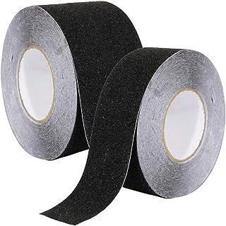 vasca da bagno gradini KLK Nastro antiscivolo per tappeto interni ed esterni e veicoli piscina doccia adatto per esterni nastro adesivo antiscivolo per scale