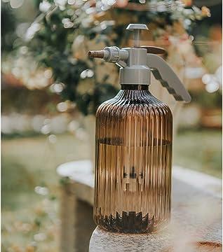 NA 68 oz Multi-Purpose Pressurized Spray Bottle with Mist Foaming Adjustable Nozzle Brown