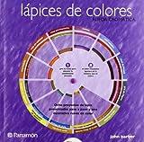 Lápices de colores rueda cromática