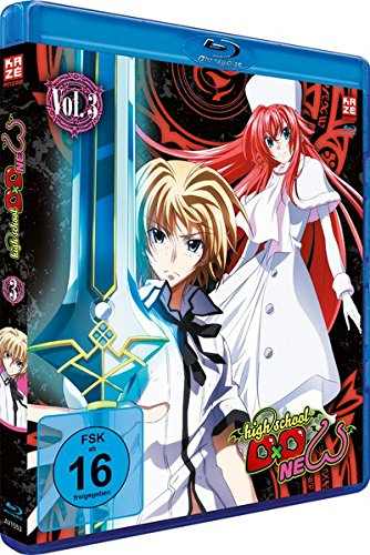 Highschool DxD: New - Staffel 2 - Vol.3 - [Blu-ray]