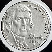 2017 S Nickel 2017 Enhanced Uncirculated Jefferson Nickel 2 Coins Perfect Uncirculated