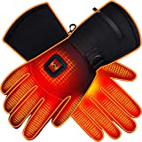 SVPRO Heated Gloves, Battery Powered Electric Gloves for Women and Men, Waterproof Rechargeable...