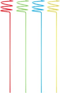 Panacea 87995-4 Beverage Stake, 36-Inch, Assorted Colors, 4-Pack