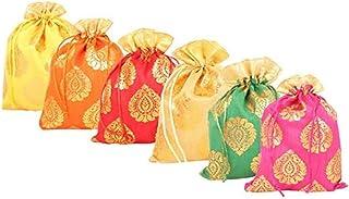 WS Wrap Shap Paan Patta Potli Batwa Bag Bridal Purse Women handbag Shagun Pouch Return Gifts