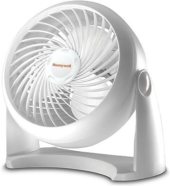 Honeywell Tabletop Air-Circulator Fan, White, HT-904