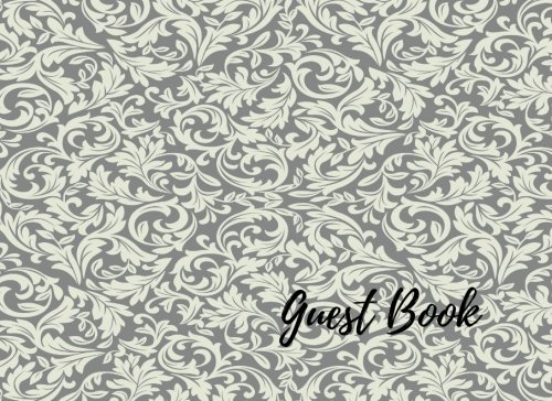 Guest Book: Silver Event, Wedding, Birthday, Anniversary. Celebration, Party Guest Book. Free Layout. Use As You Wish For Names & Addresses, Sign In, Advice, Wishes, Comments, Predictions. (Guests)