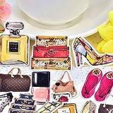 HENJIA Bunte parfüm Schuhe und Taschen Aufkleber selbst gemacht Serie Scrapbooking dekorative...