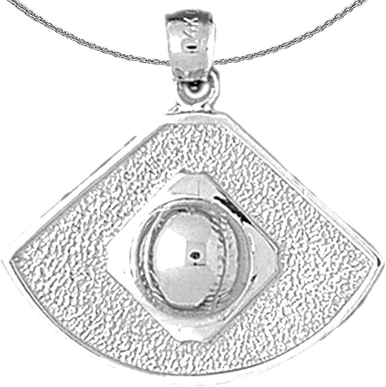 Japan Maker New Jewels Obsession Gold Baseball Fashionable 14K Diamond White Necklace