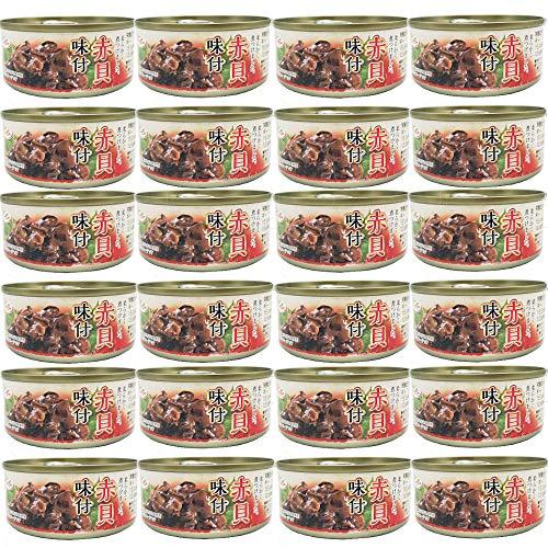 赤貝 味付 缶詰 100gx24缶 珍味 おつまみ アテ 酒の肴 缶切り不要 おつまみセット まとめ買い