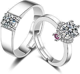 Deesos una coppia anello regalo per Valentine's Day, miglior regalo per compleanno o anniversario, regalo ideale anche per...