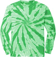 Koloa Surf Co. Colorful Long Sleeve Tie-Dye T-Shirts in 10 Colors. Sizes: S-4XL