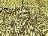 Lady McElroy Karo Wollstoff, Gelb – Meterware