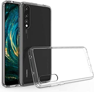 ASUWISH Huawei P20 Pro Case, Hard PC back Flexible Frame, Ultimate Protection, Transparent