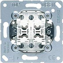 Jung Dubbele drukknop 539U 2 wisselaar, 250 V