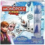 Hasbro - B22471010 - Jeu De Plateau - Monopoly Junior - Reine Des Neiges
