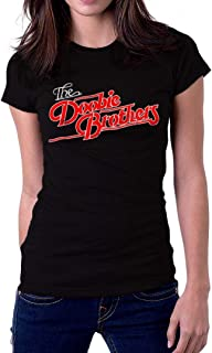 The Doobie Brothers Band Music Distressed Logo Women's T-Shirt