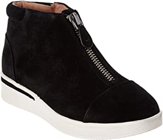 Gentle Souls Womens GS02228SU Hazel-fay Platform Midtop Front Zip Sneaker