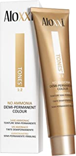 Aloxxi 4V Tones Demi | Permanent Hair Colour for Color-treated Hair | Enhanced Natural Color, Increases Shine & Reduces Gr...